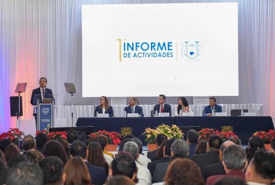 1er. Informe de Actividades del Rector Dr. Carlos F. Natarén Nandayapa