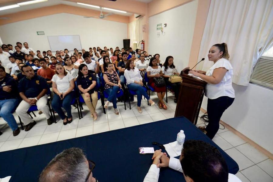 Bienvenida Facultad de Contaduría y Administración Campus VII, Pichucalco