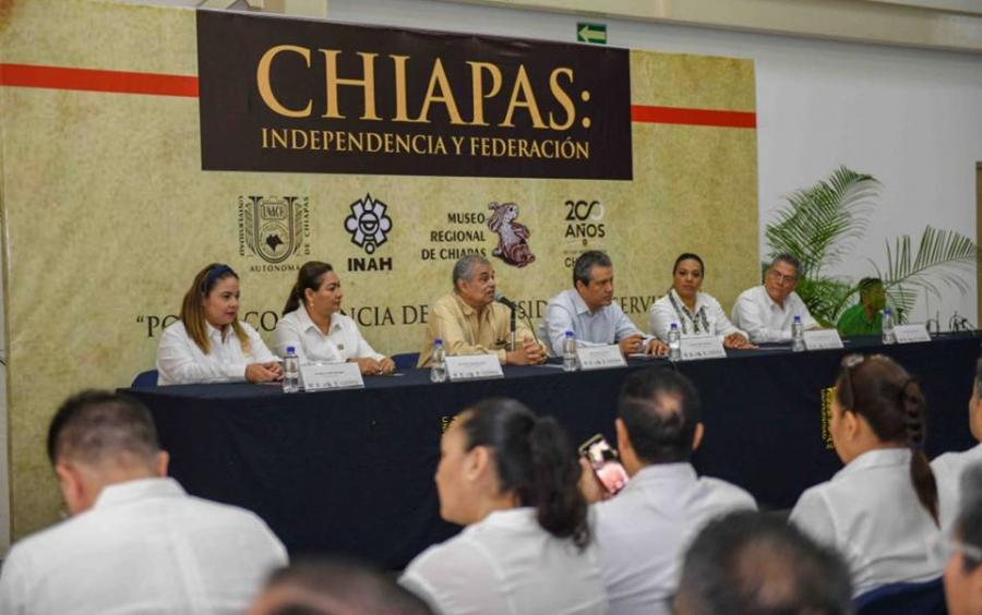 Expo Chiapas: Independencia y Federación