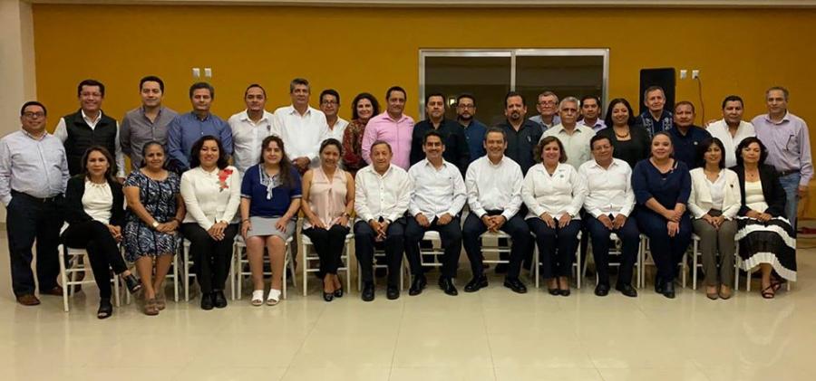 Encuentro con integrantes de la H. Junta de Gobierno y Directores de Facultades