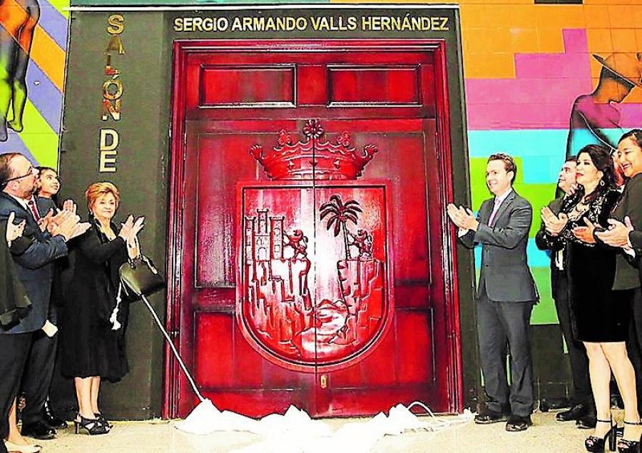 Sesión Solemne con motivo al 2° Aniversario Luctuoso y Develación en letras doradas del nombre del Ministro Sergio Armando Valls Hernández