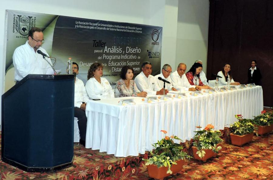 """Inauguración """"Taller para la Revisión del Final del Programa Indicativo de Desarrollo de la Educación Superior a Distancia"""""""