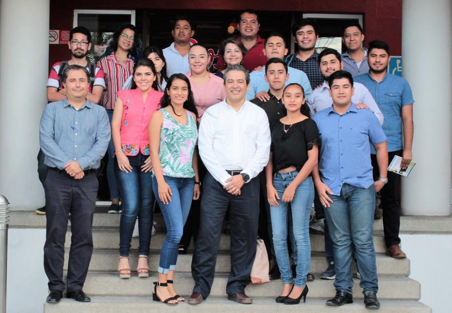 Plática del Proyecto Académico 2018 - 2022 con los Consejeros Universitarios