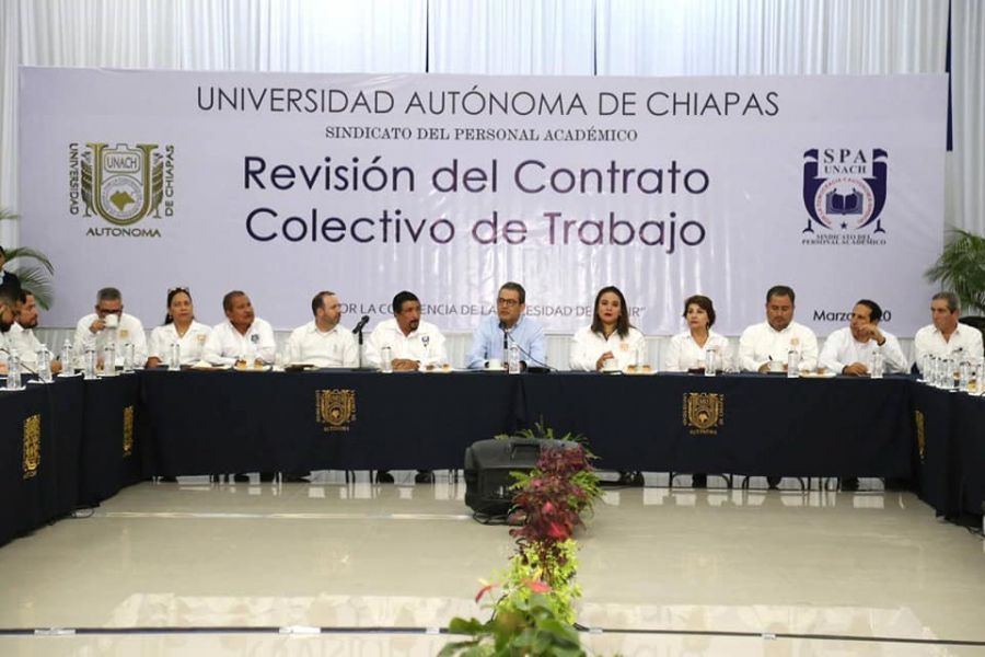Revisión del Contrato Colectivo de Trabajo 2020 del Sindicato del Personal Académico
