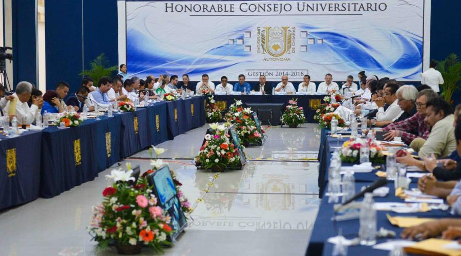 2ª Sesión Ordinaria del Honorable Consejo Universitario