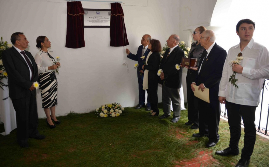 Homenaje Póstumo al Dr. Jorge Mario Lescieur Talavera (1954-2016)